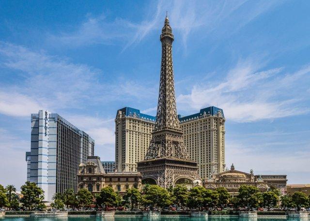 Эйфелева башня отеля «Париж», Лес-Вегас