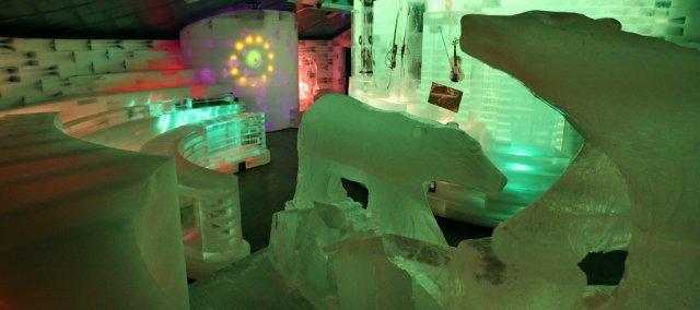 Ледовый дворец Ice Space, Эйлат