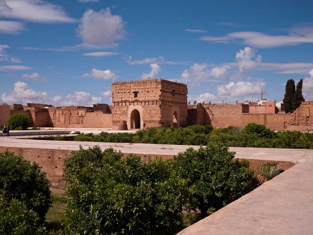 Дворец Эль Бади, Марракеш