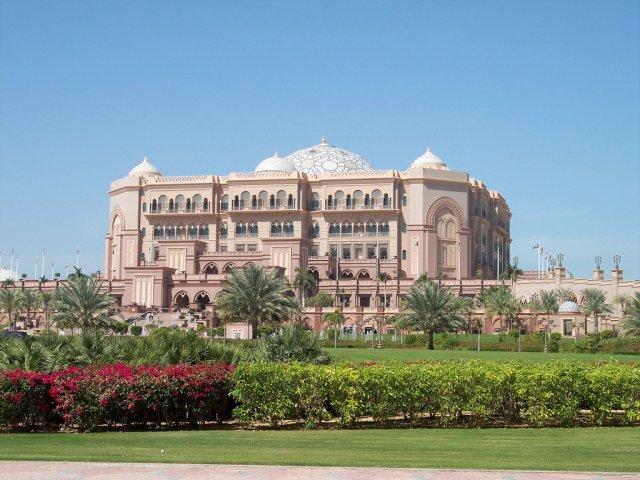 Отель Эмирейтс Палас, Абу-Даби