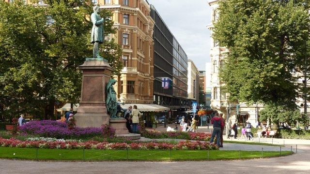 Парк Эспланады, Хельсинки