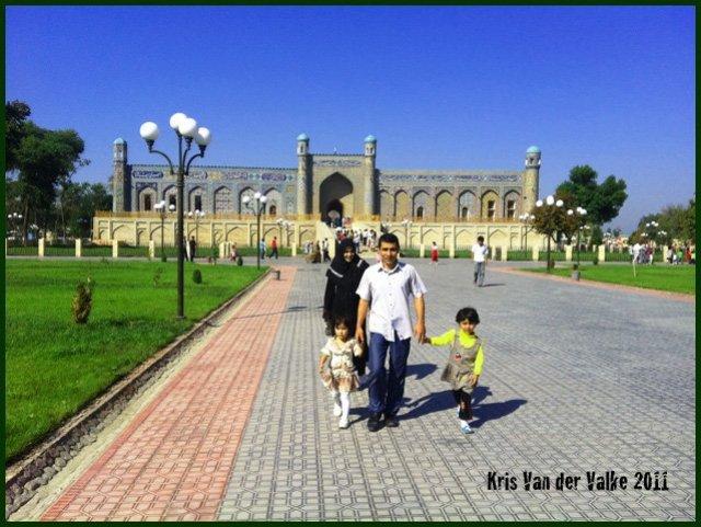 Снаружи дворец хана (имхо) гораздо интереснее, чем внутри