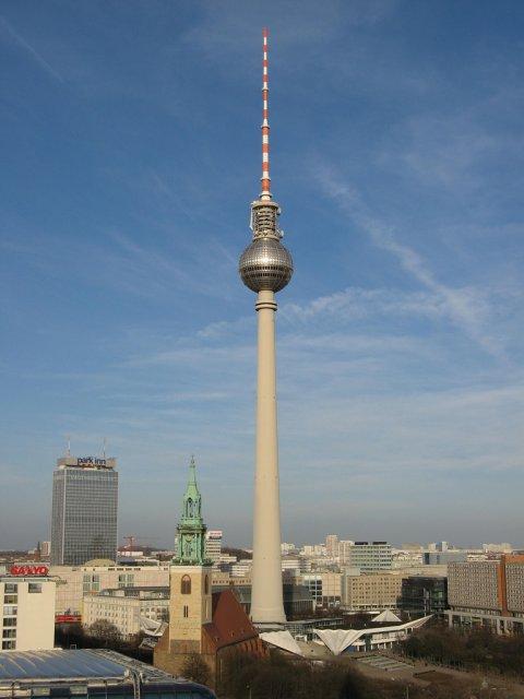Берлинская телебашня Фернзеетурм