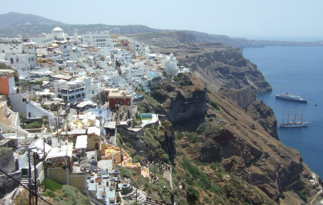 Город Фира, Греция