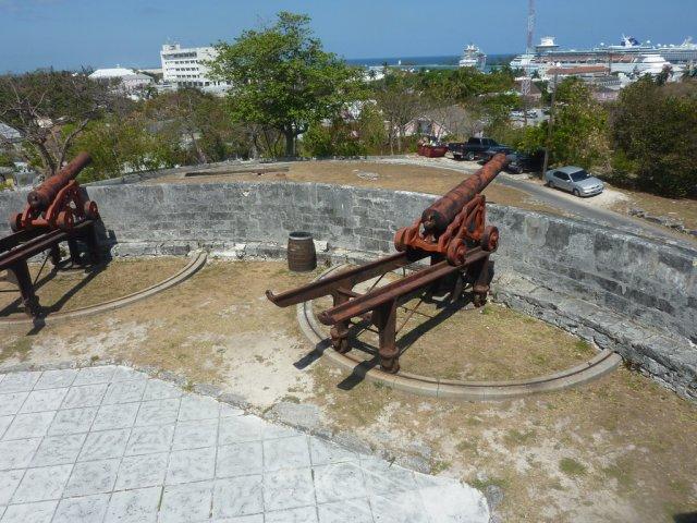 Крепость в Нассау, Багамы