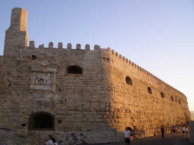 Крепость Кулес, Крит