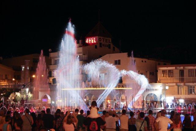 Танцующий фонтан, Мармарис