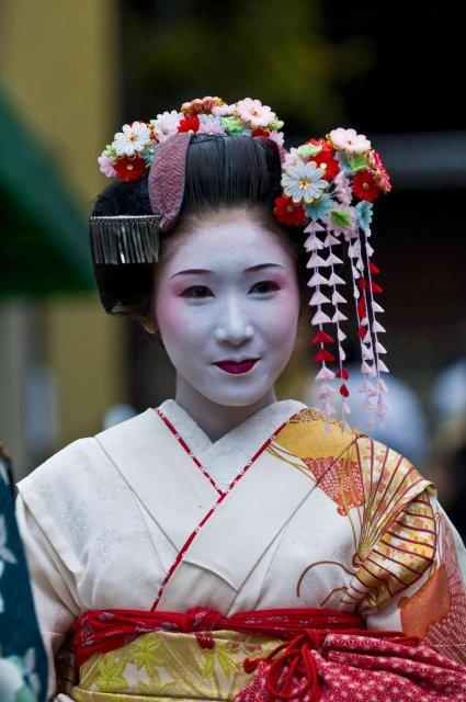 Гейша - человек искусства, Япония