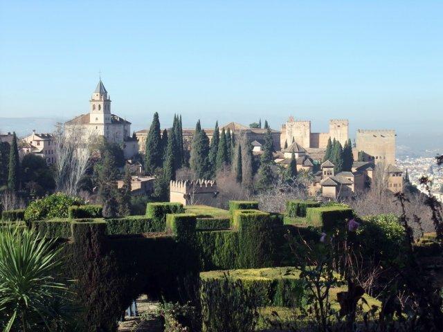 Сады Хенералифе, Гранада