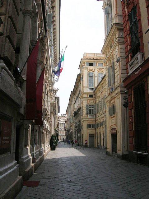 Виа Гарибальди, Генуя