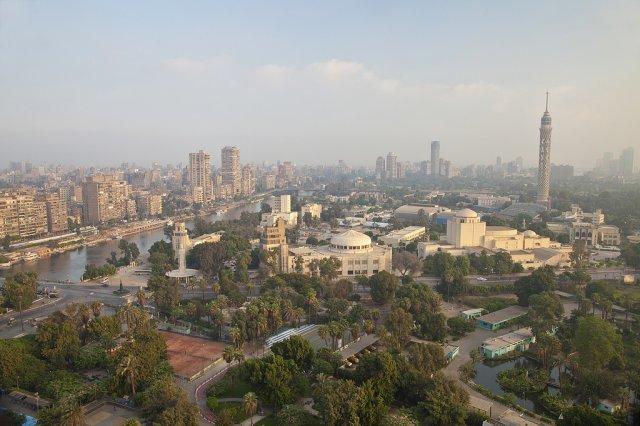 Остров Гезира, Каир