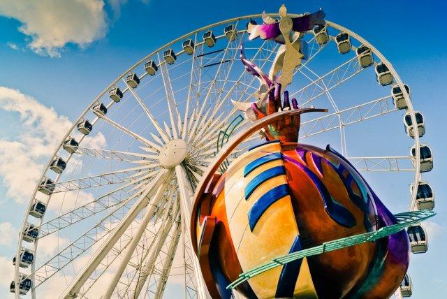 Колесо обозрения Giant Sky Wheel, Токио