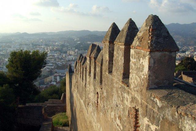 Замок Хибральфаро, Малага