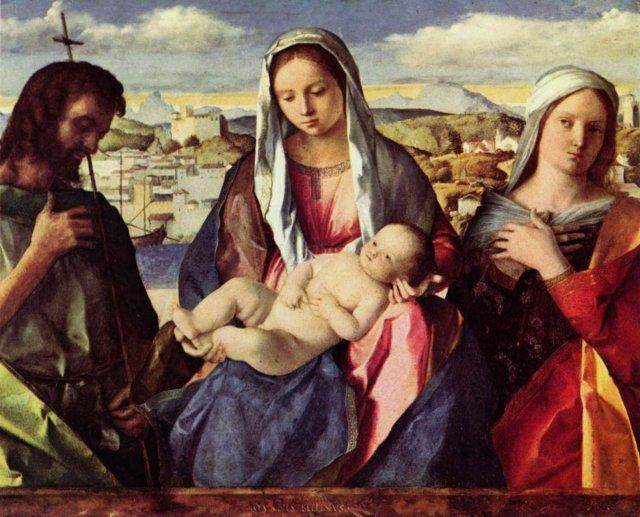 Джованни Беллини - Мадонна, Галерея Академии в Венеции