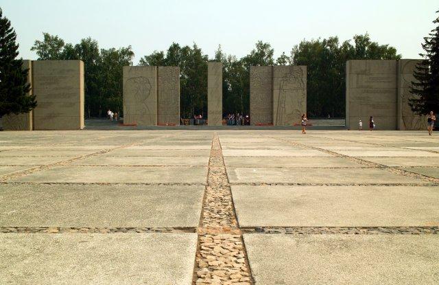 Монумент Славы, Новосибирск