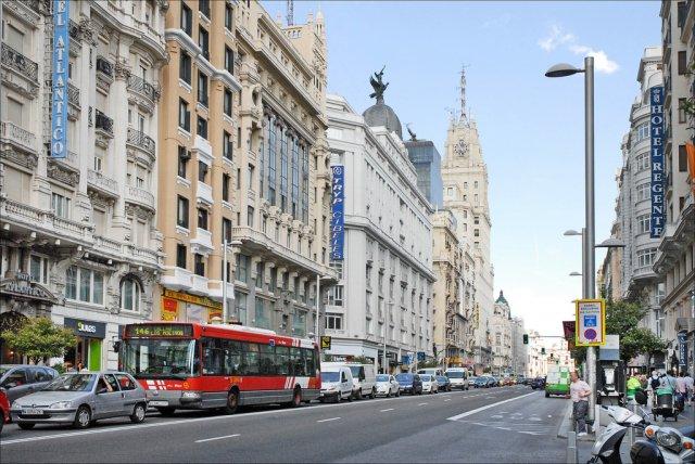 Гран-Виа, Мадрид