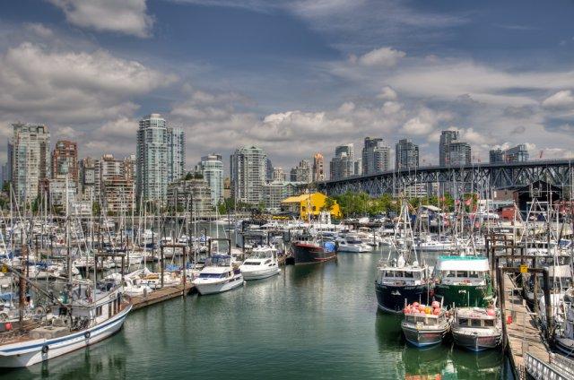 Остров Гранвиль, Ванкувер