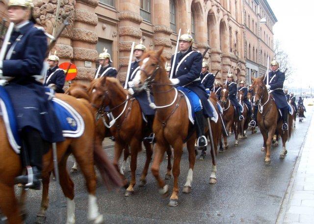 Парад в Стокгольме, Швеция