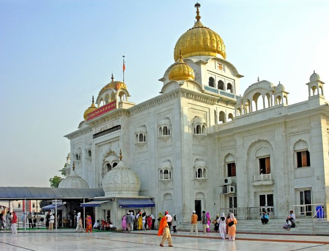 Храм Гурудвара Бангла Сахиб, Дели