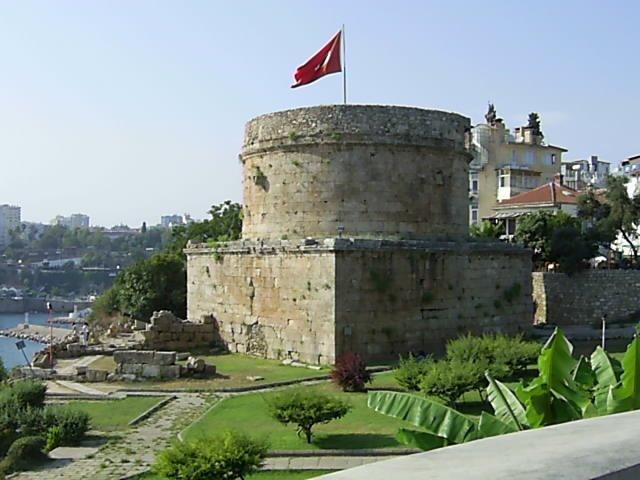 Башня Хыдырлык, Анталия