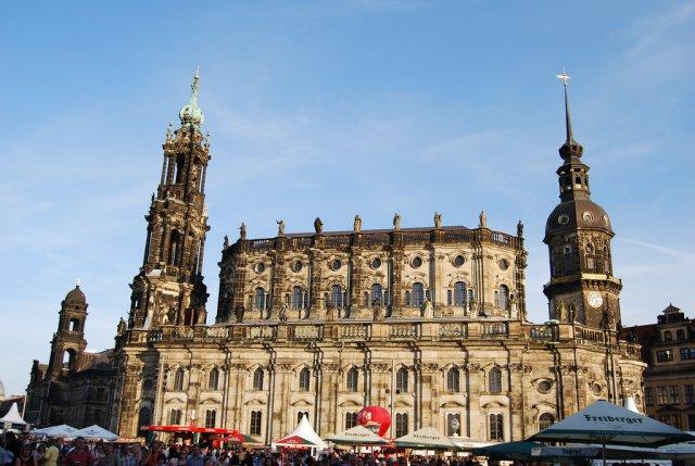 Католическая Придворная Церковь Хофкирхе, Дрезден
