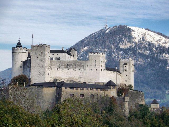 Крепость Хоэнзальцбург, Зальцбург