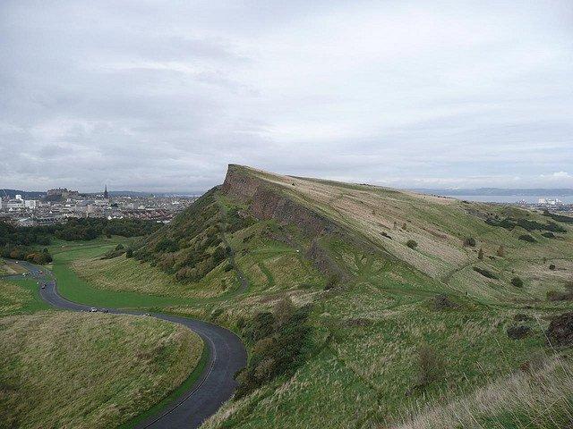 Парк Холируд и гора «Седло Артура», Эдинбург