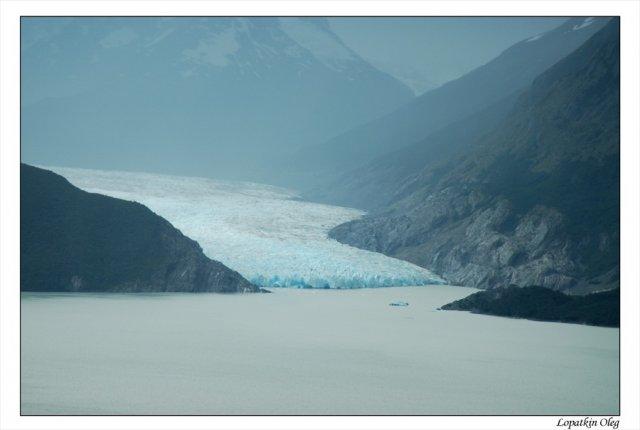 Правая часть ледника Gray