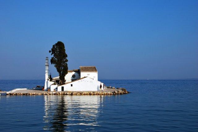 Остров Понтиконисси, Корфу