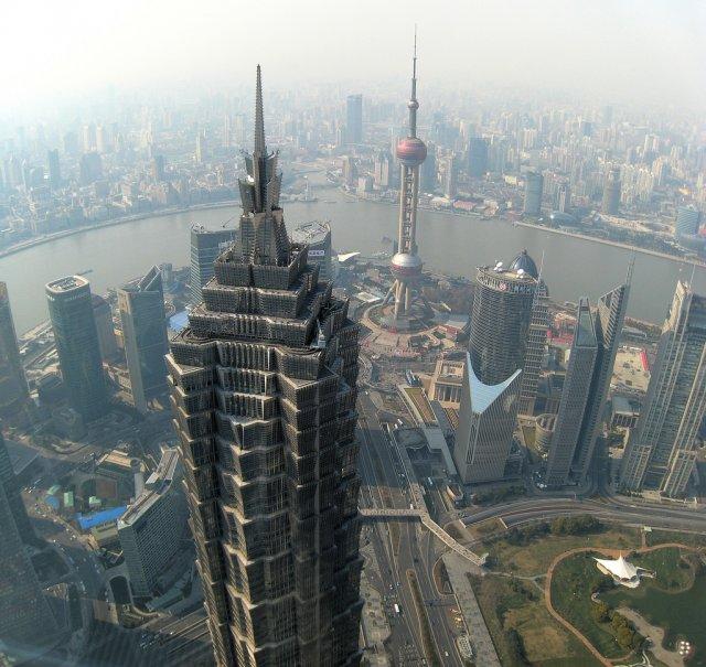Смотровая площадка небоскреба Цзинь Мао, Шанхай