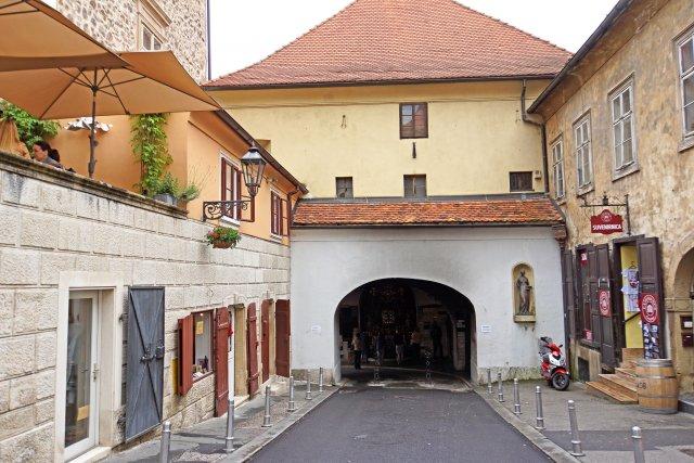 Каменные ворота, Загреб
