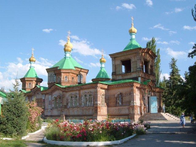 Собор св. Троицы в Караколе, Киргизия