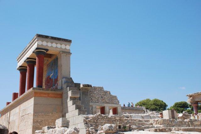 Кносский дворец, остров Крит