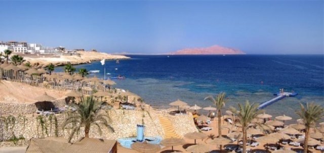 Риф и пляж Sunrise Island View 5*, Шарм-эль-Шейх, Египет