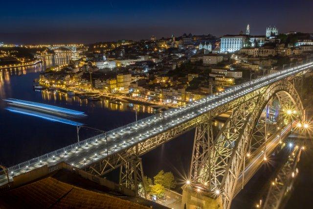 Мост дона Луиша, Порту
