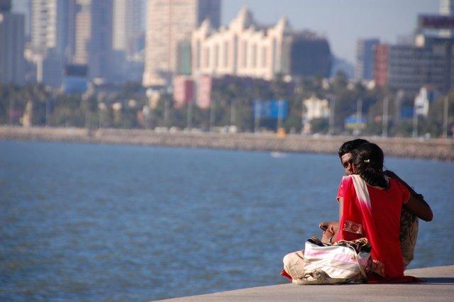 Набережная Марин-драйв, Мумбаи