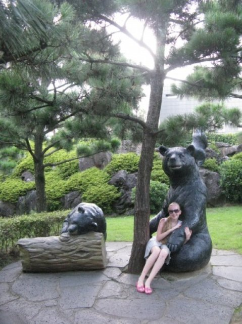 Городок медведей, остров Чеджу, Южная Корея