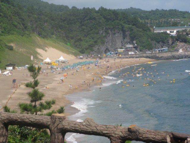 Пляж острова Чеджу, Южная Корея