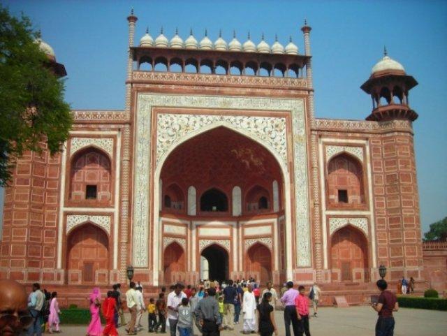Входные ворота в Тадж-Махал, Индия