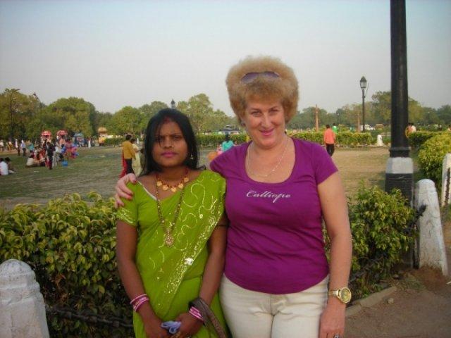 Фото с индианкой
