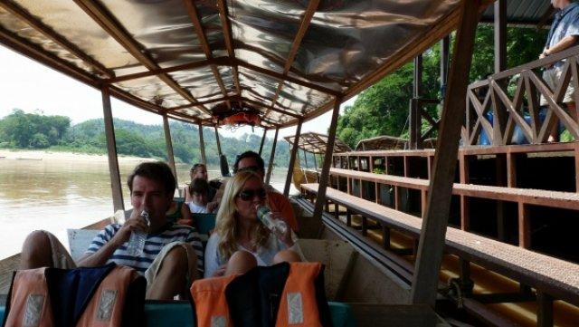 Утомительный путь на лодке