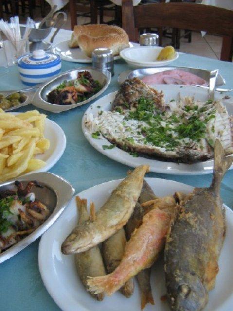 Блюда в кафе Кипре