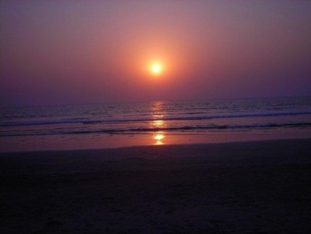 Сиреневый закат, Индия