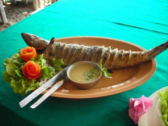 Фирменное блюда океана, Индия