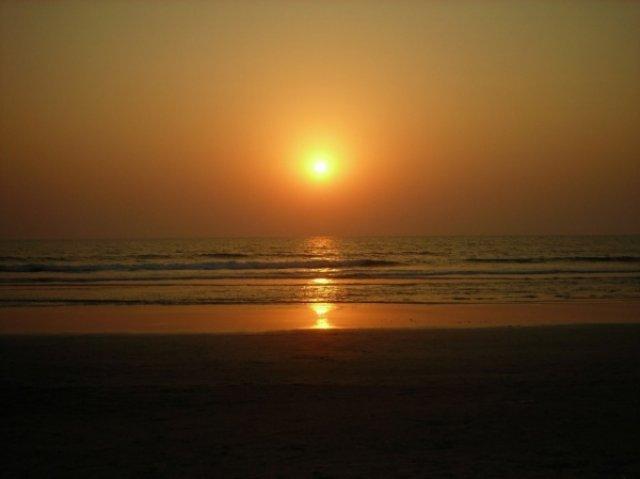 И был вечер на индийском океане...