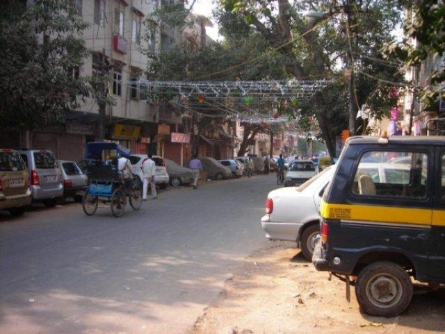 На улицах Дели, Индия