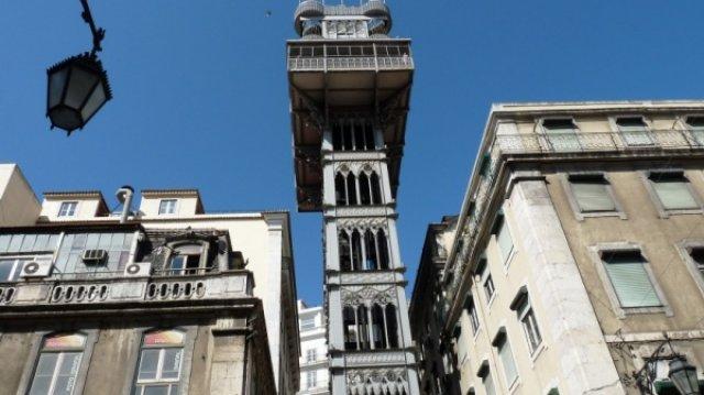 Лиссабон: городской лифт