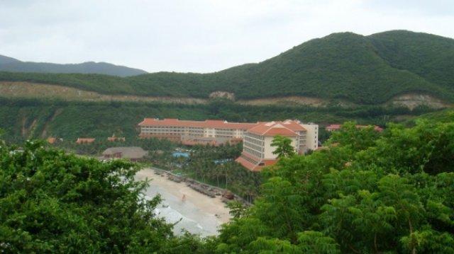 Вид на отель Vin Pearl, Вьетнам