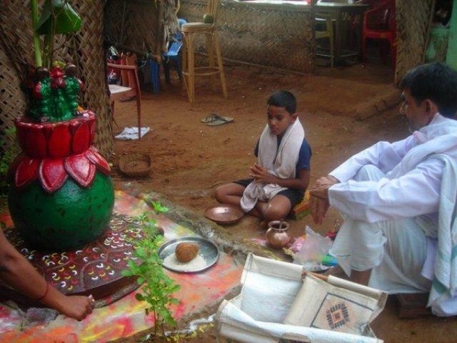 Ритуал, Индия