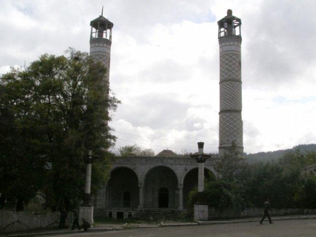 Верхняя мечеть в Шуши